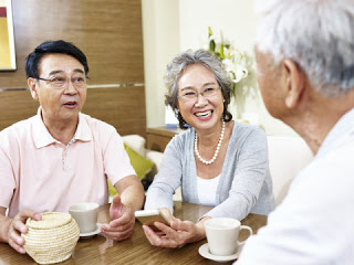 Happy older people live longer research finds