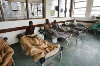 Cholera emergency declared in Zimbabwe as death toll rises to 20 and over 2000 people infected